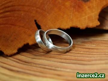Zasnubni A Snubni Prsteny Z Damaskove Oceli Inzerce Zdarma Bazar